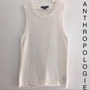 Anthropologie Sanctuary Knit/crochet sweater tank